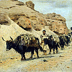 Yaqui. 1875, Vasily Vereshchagin