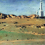 Vasily Vereshchagin - Angle Turkish redoubt taken MD Skobelev August 30, but again abandoned the 31 th. 1877