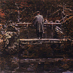 On the bridge, Vasily Vereshchagin
