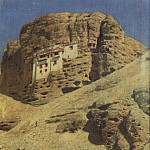 Monastery in the rock. Ladakh. 1875, Vasily Vereshchagin