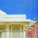 Tomb of Sheikh Salim Chishti in Fatehpur Sikri. 1874-1876, Vasily Vereshchagin