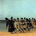haulers. 1866, Vasily Vereshchagin