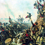 End of Borodino battle. 1899-1900, Vasily Vereshchagin