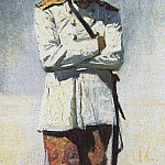 Vasily Vereshchagin - Turkestan the officer, when the campaign will not be. 1873