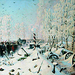 Vasily Vereshchagin - On the high road. Retreat, retreat. 1887-1895