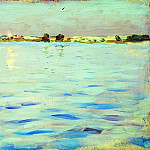 Latest rays. Lake. 1898-1899, Isaac Ilyich Levitan