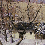 Winter in the Crimea, Isaac Ilyich Levitan