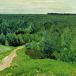 Isaac Ilyich Levitan - Wood distances. 1880-1890-e