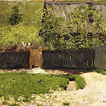 First greens. May. 1883-1888, Isaac Ilyich Levitan