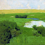 Istra River. 1885-1886, Isaac Ilyich Levitan