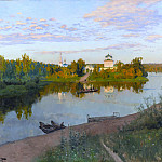 Evening Bells. 1892, Isaac Ilyich Levitan