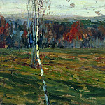 Autumn. Birches. 1899, Isaac Ilyich Levitan
