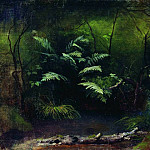 Ferns near the water. 1895, Isaac Ilyich Levitan