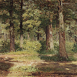Forest. Sunny day. 1883-1884, Isaac Ilyich Levitan