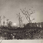 Landscape with the moon. 1880, Isaac Ilyich Levitan