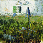 Isaac Ilyich Levitan - For the church wall. 1885