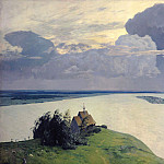 Isaac Ilyich Levitan - Above the Eternal Peace. 1894
