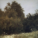 Isaac Ilyich Levitan - meadow in the woods. 1898
