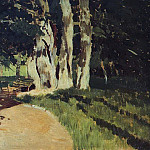In the Park 2. 1895, Isaac Ilyich Levitan