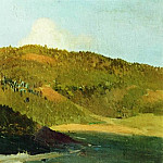 On the tops of pastures. 1886, Isaac Ilyich Levitan