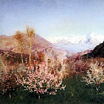 Spring in Italy 1. 1890, Isaac Ilyich Levitan