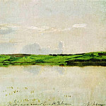 Summer quiet evening. 1894, Isaac Ilyich Levitan