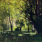 In the Park 1. 1895, Isaac Ilyich Levitan