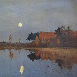 The Twilight Moon, Isaac Ilyich Levitan
