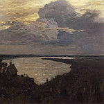 Isaac Ilyich Levitan - Above the Eternal Peace. 1893-1894