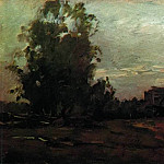 Village. Twilight. 1897, Isaac Ilyich Levitan