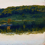 Isaac Ilyich Levitan - On the Volga. 1888