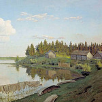 Isaac Ilyich Levitan - On the lake (Tver region). 1893