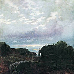 Isaac Ilyich Levitan - Evening. 1877