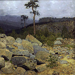 In the Crimean mountains 1. 1886, Isaac Ilyich Levitan