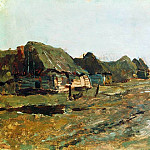 Stay in the village. 1890, Isaac Ilyich Levitan
