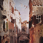 Canal in Venice. 1890, Isaac Ilyich Levitan