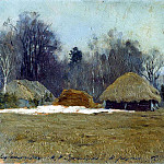 Isaac Ilyich Levitan - Early spring. 1892