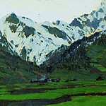 Isaac Ilyich Levitan - In the Alps in the spring. 1897