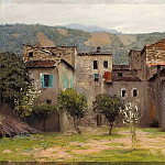 Near Bordighera. In northern Italy, 2. 1890, Isaac Ilyich Levitan