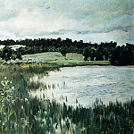 Grey day. 1895, Isaac Ilyich Levitan