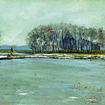 Isaac Ilyich Levitan - Early spring. 1899