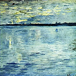 Lake. Evening. 1898-1899, Isaac Ilyich Levitan