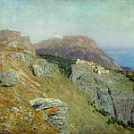 Cornish. South of France. 1895, Isaac Ilyich Levitan