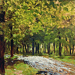 Isaac Ilyich Levitan - Road in the woods. 1880
