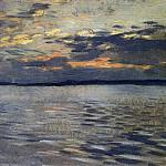 Lake. Evening. 1890, Isaac Ilyich Levitan