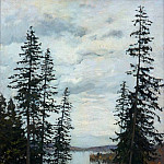 In the north. 1896, Isaac Ilyich Levitan