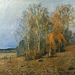 October . 1891, Isaac Ilyich Levitan