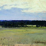 Noon. End of 1880, Isaac Ilyich Levitan