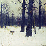 Winter in the woods. 1885, Isaac Ilyich Levitan