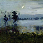 Fog over the water. 1890, Isaac Ilyich Levitan